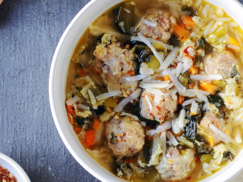 Andrew Zimmern's Italian Wedding Soup