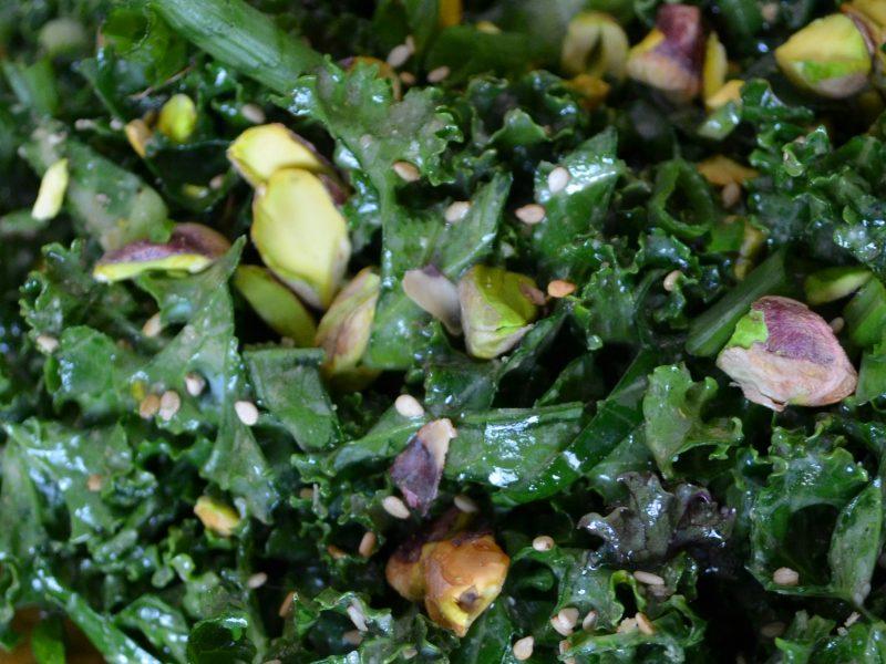 Andrew Zimmern's Kale Salad