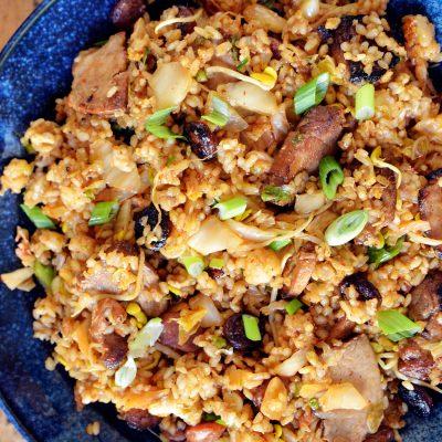 Andrew Zimmern's Kimchi Fried Rice