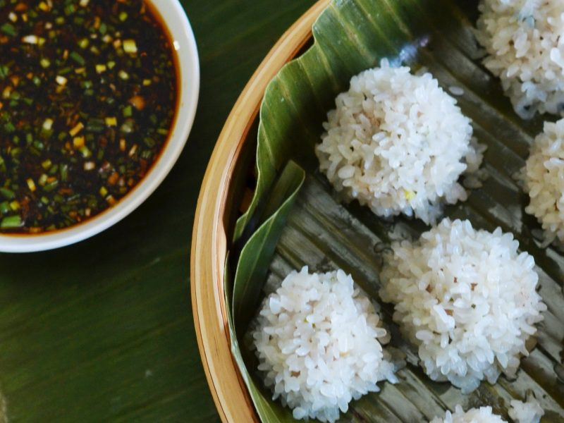Andrew Zimmern's Pearl Rice Balls