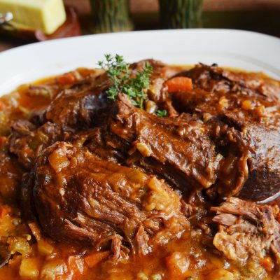 Andrew Zimmern's recipe for pot roast