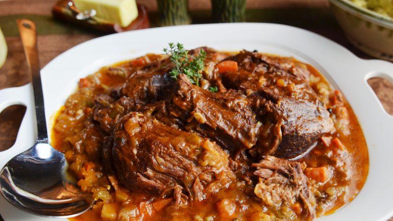 Andrew Zimmern's recipe for pot roast