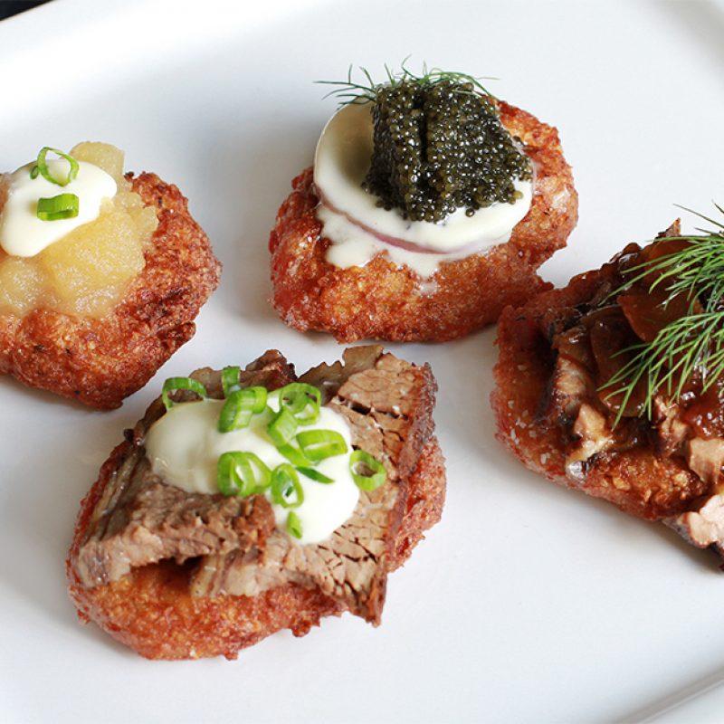 Andrew Zimmern's Potato Latkes Recipe
