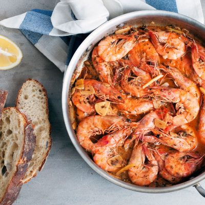 Andrew Zimmern's Recipe for BBQ Shrimp