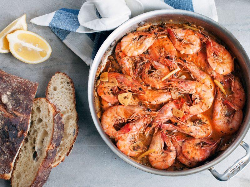 Andrew Zimmern's Recipe for BBQ Shrimp