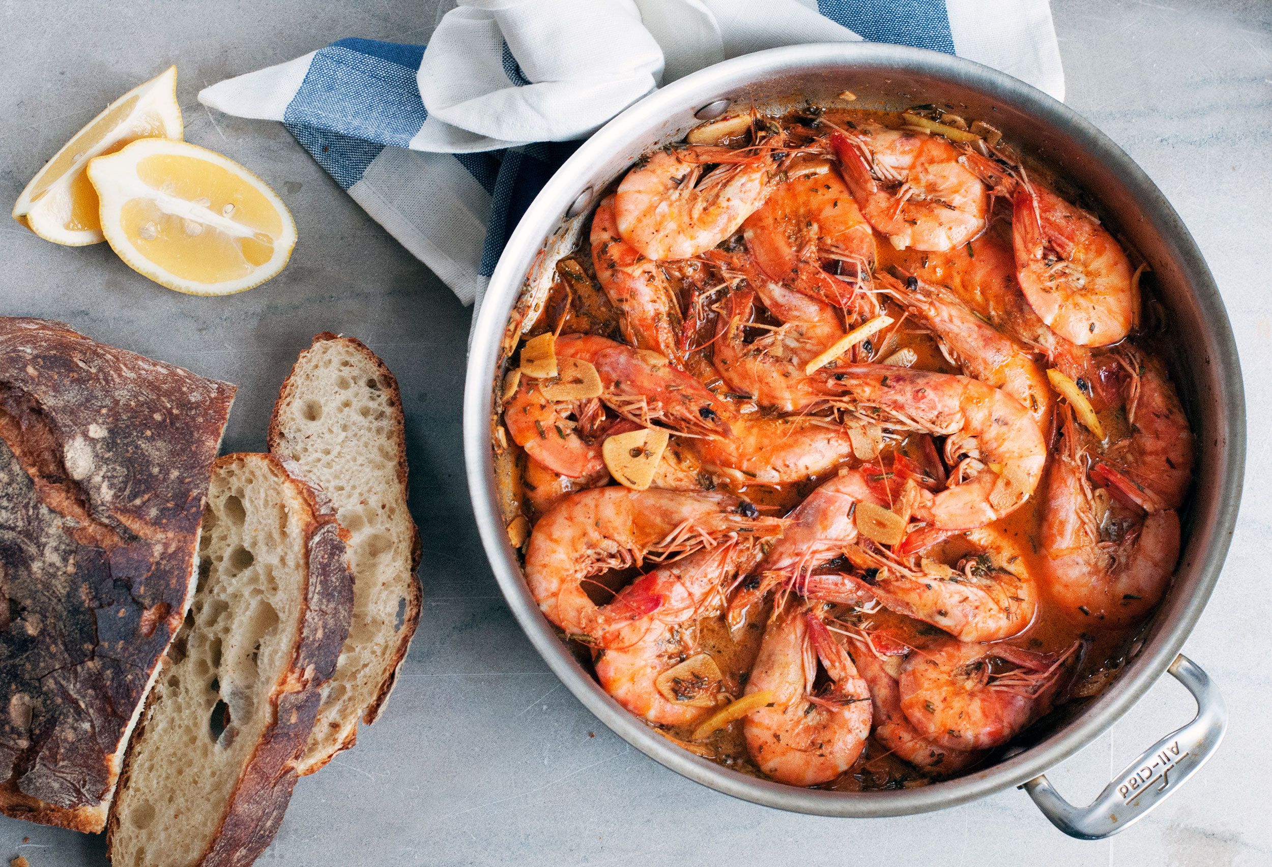 New Orleans-Style Barbecue Shrimp – Andrew Zimmern