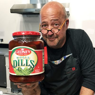 Andrew Zimmern's Recipe for Koolickles Andrew Zimmern's Koolickles with Barbecue