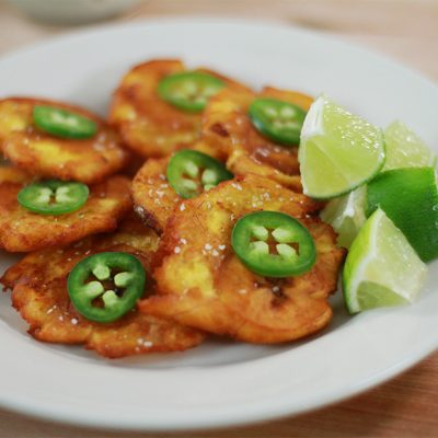 Andrew Zimmern's Recipe for Tostones