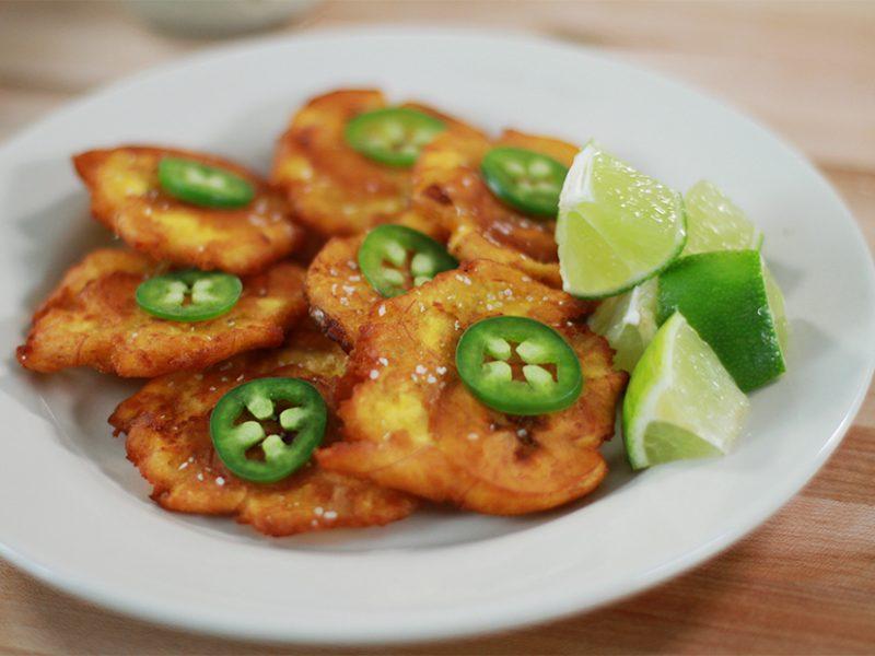 Andrew Zimmern's Recipe for Tostones