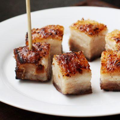 Andrew Zimmern's Roasted Pork Belly