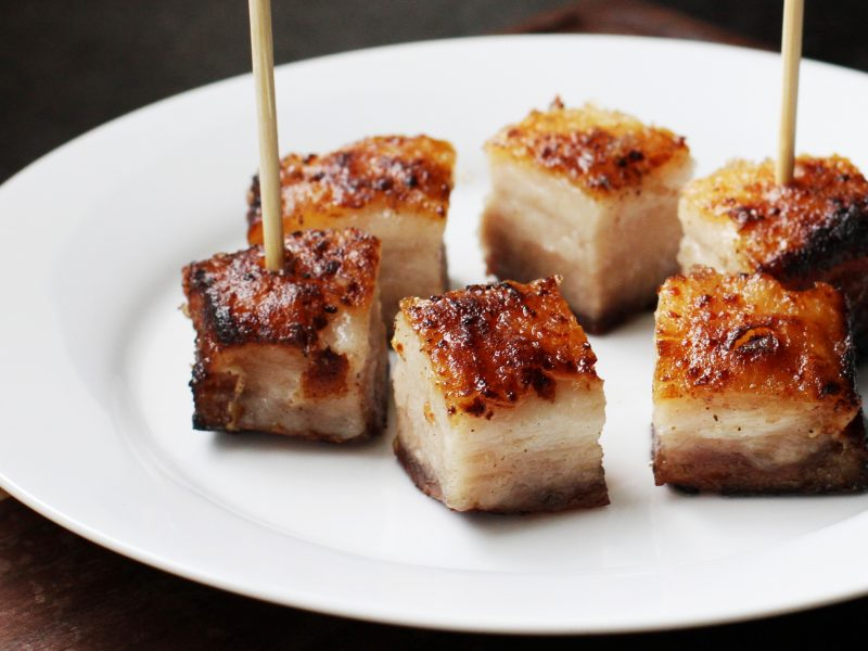 Andrew Zimmern's Roasted Pork Belly