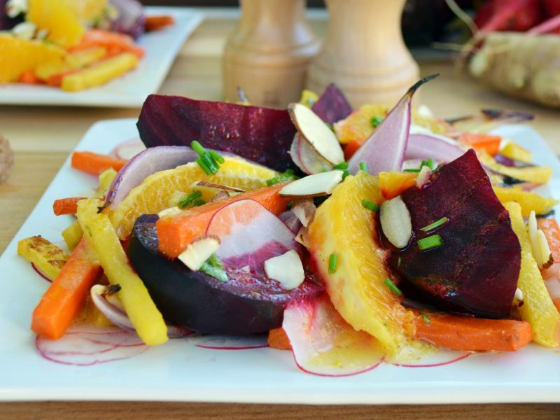 Andrew Zimmern's Root Vegetable Salad