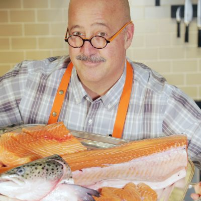 Andrew Zimmern's Salmon Head Soup