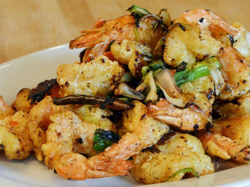 Andrew Zimmern's Salt and Pepper Shrimp