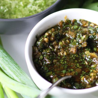 Andrew Zimmern's Soy and Ginger Sauce
