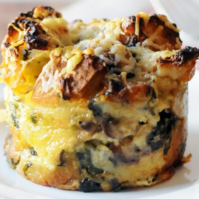 Andrew Zimmern's Stuffing Bread Pudding
