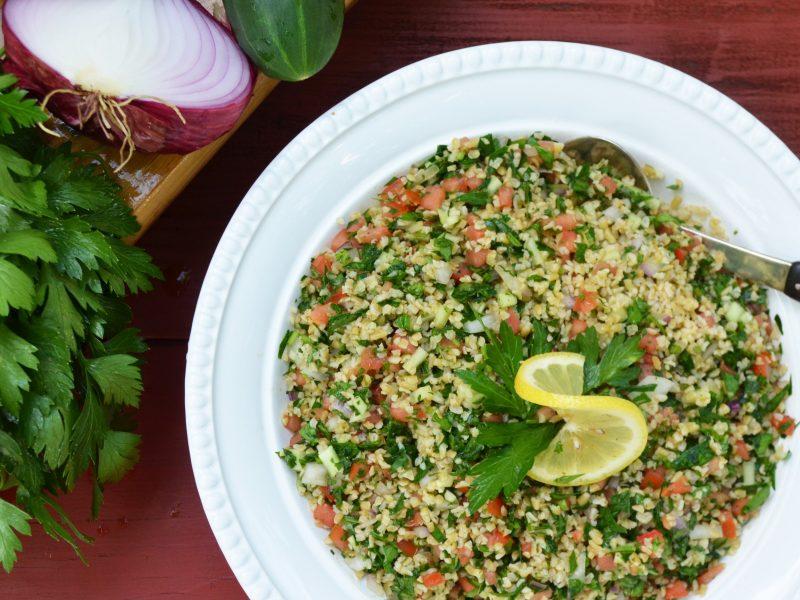 Andrew Zimmern's Tabbouleh Recipe