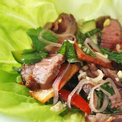 Andrew Zimmern's Thai Beef Salad