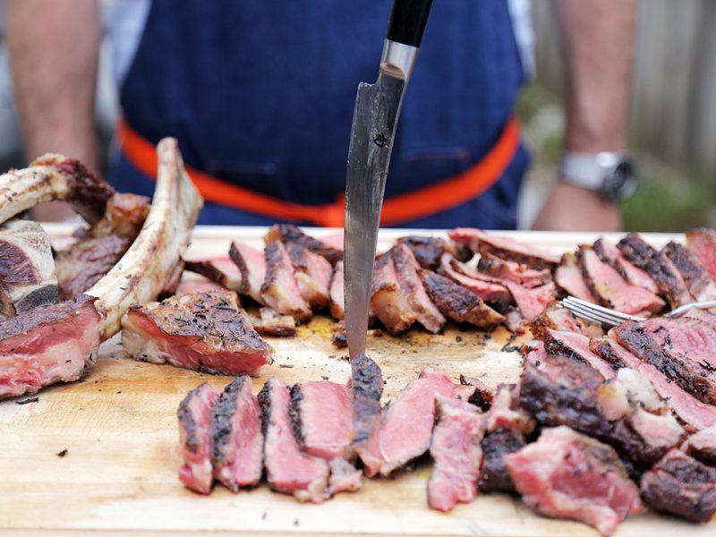 Andrew Zimmern's Tips for Grilling Steak