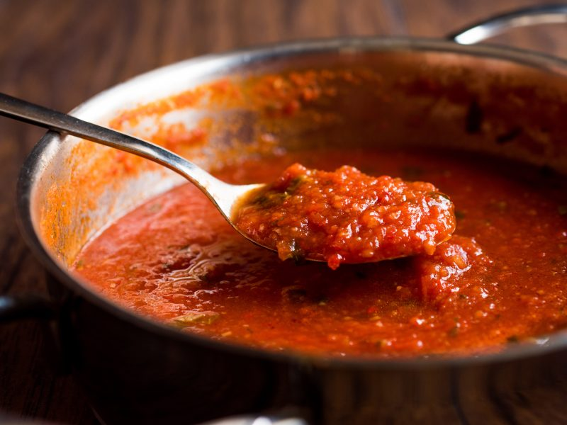 Andrew Zimmern's recipe for tomato sauce