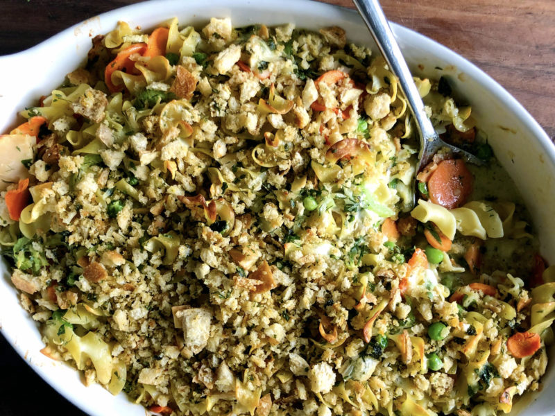 Andrew Zimmern's Tuna Noodle Casserole
