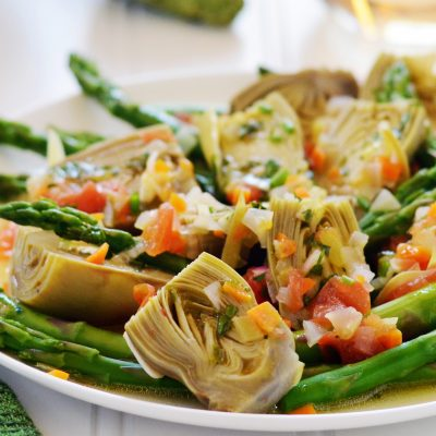 Andrew Zimmern's Vegetable Barigoule