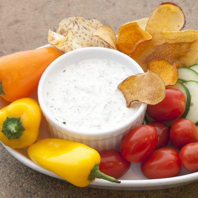 Andrew Zimmern's Vegetable Dip