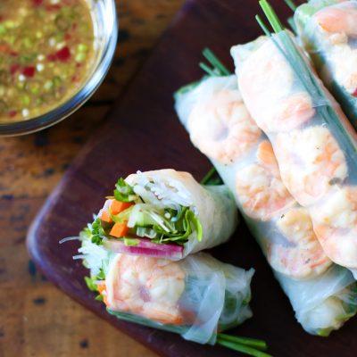 Andrew Zimmern's Vietnamese Summer Rolls