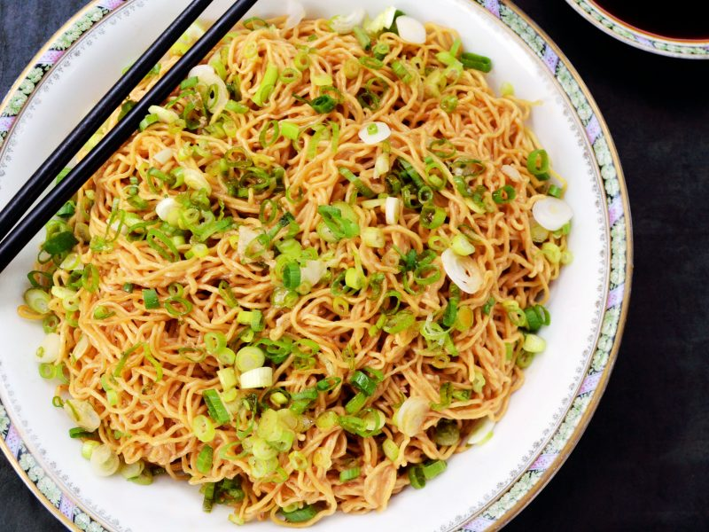 Andrew Zimmern's aromatic soy sauce noodles