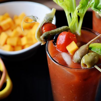 Andrew Zimmern's bloody mary
