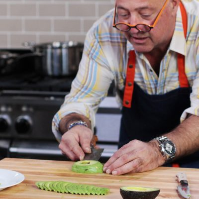 Andrew Zimmern's tips for cutting an avocado