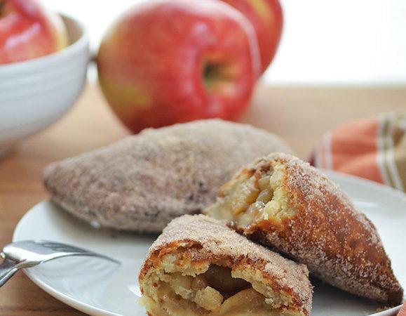 Fried SweetTango Apple Hand Pie