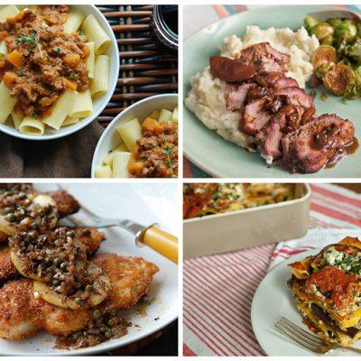 Back to School Recipes|Lasagna al Forno|Turkey a la King||Butter-Fried Chicken|Orecchiette with Brown Butter