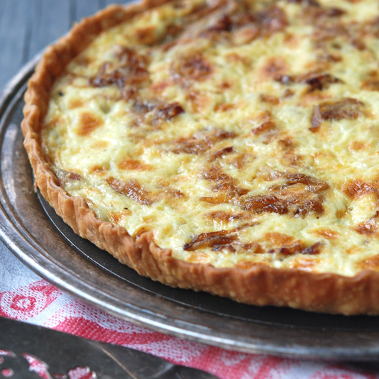 Bacon & Onion Tart