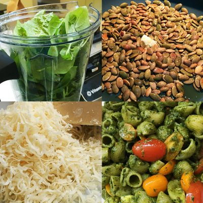 Basil Peso with Pumpkin Seeds|Pesto with Pumpkin Seeds|Pesto making|Pumpkin seed pesto|Pesto pasta