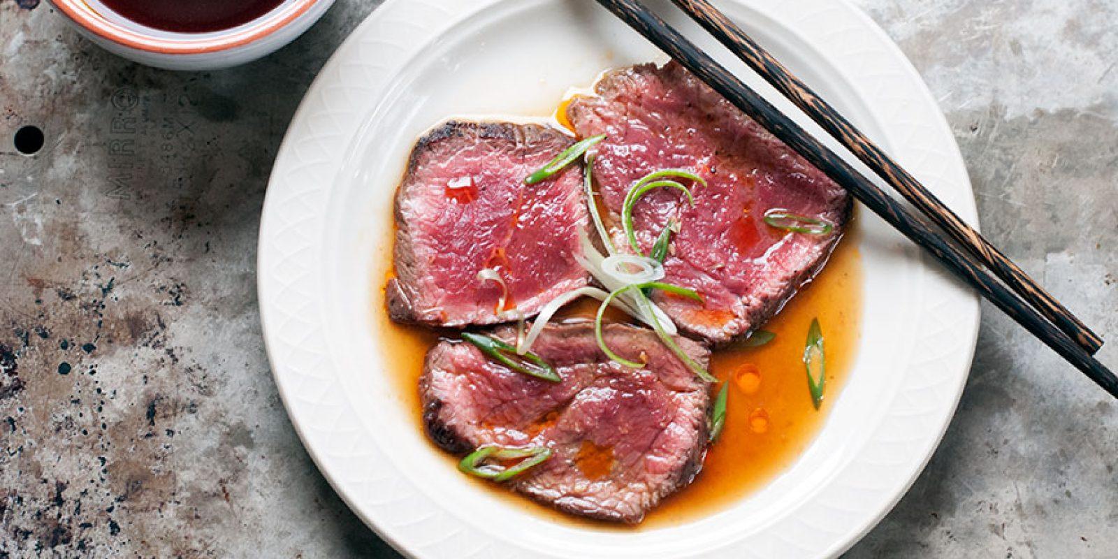 Beef Tataki with Ponzu – Andrew Zimmern