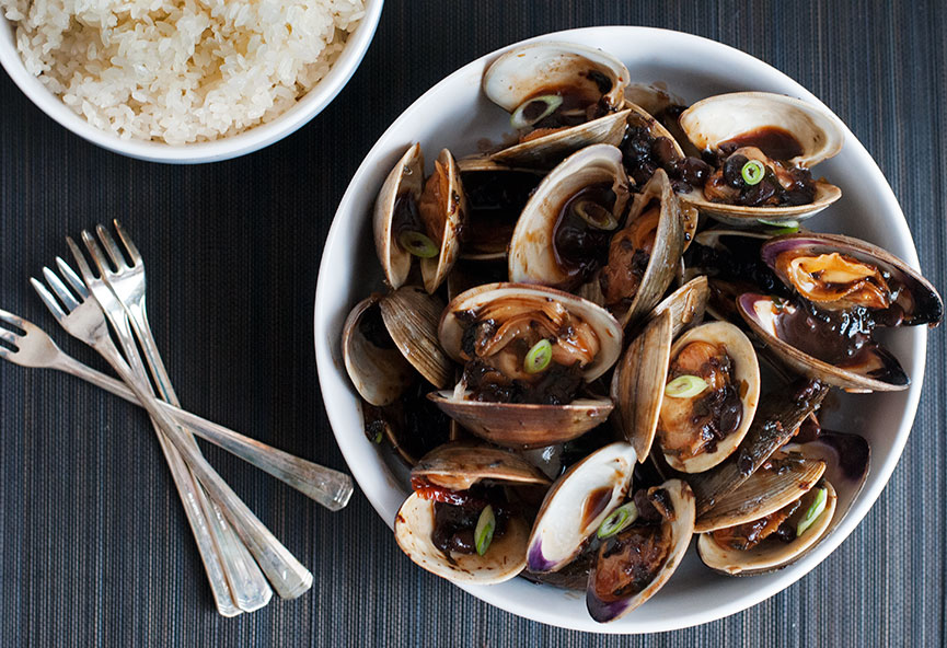 Black Bean Clams