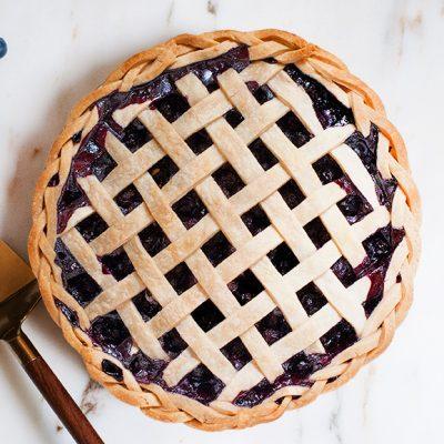 Blueberry-pie