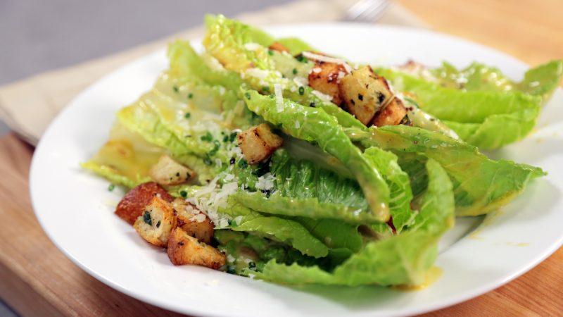 Andrew Zimmern's Recipe for Caesar Salad