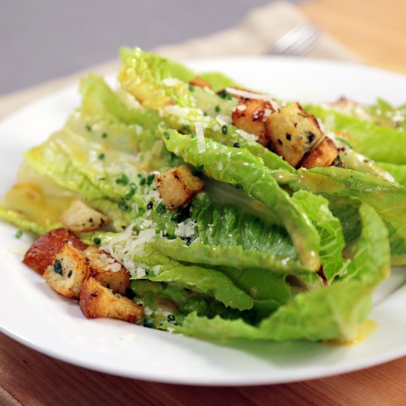 Andrew Zimmern's Recipe for Caesar Salad