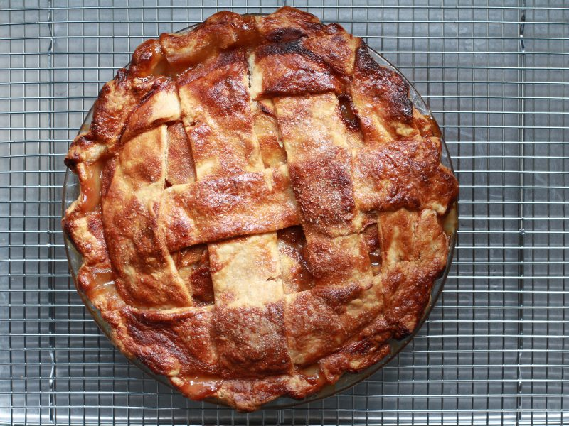 Michelle Gayer's Caramel Apple Pie