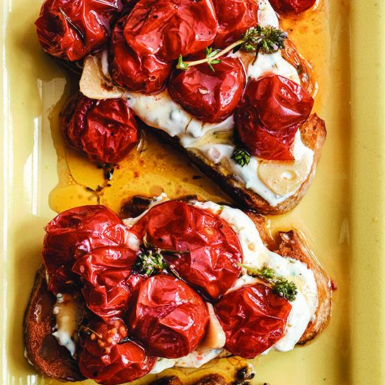https://andrewzimmern.com/2014/04/08/cherry-tomato-crostini-homemade-herbed-goat-cheese/