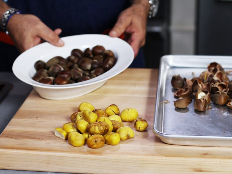 Andrew Zimmern's tips for roasting chestnuts