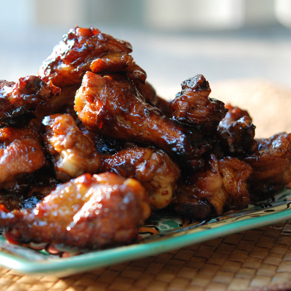 One-Pot Sticky Chicken Wings