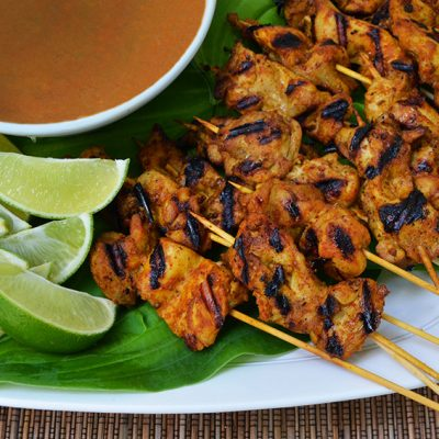 Chicken Satay with Peanut Sauce|Chicken Satay with Peanut Sauce||Chicken Satay