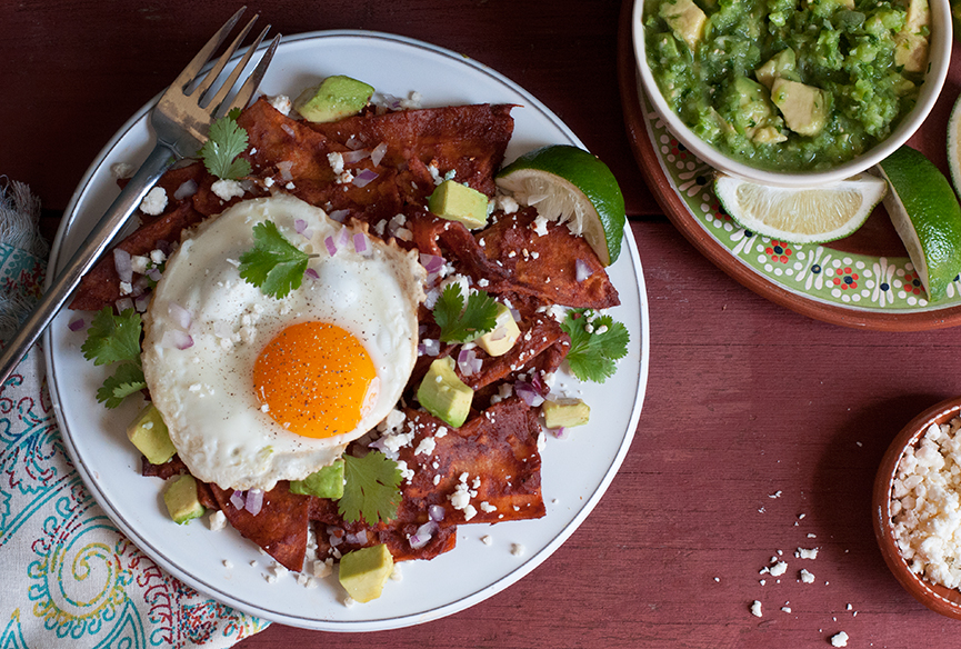 Andrew Zimmern's Recipe for Chilaquiles