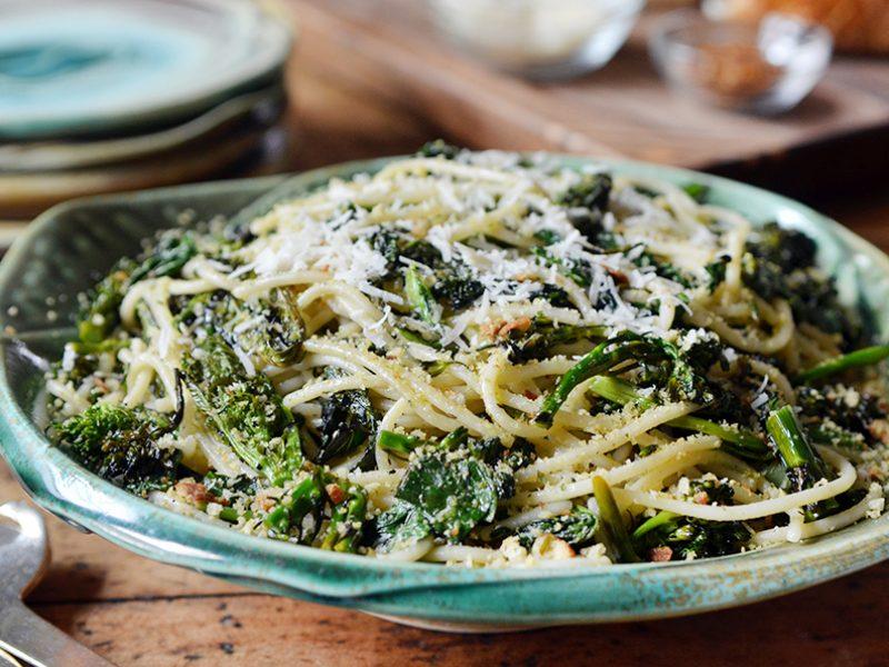 |Chitarra with Charred Broccoli Rabe