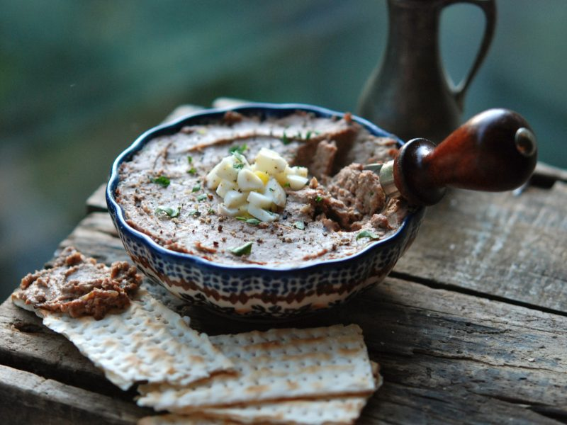 Andrew Zimmern's Chopped Chicken Liver