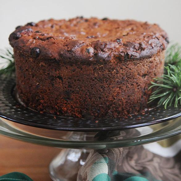 Boiled Christmas Fruit Cake