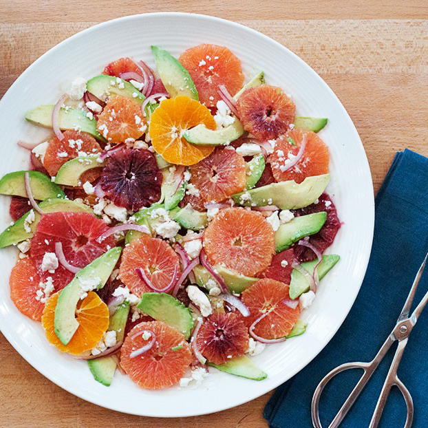 Citrus Salad with Avocado & Feta